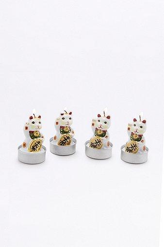 lucky-cat-tealight-candles