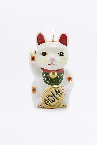 lucky-cat-candle
