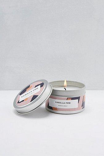 Image du produit Bougie gousse de vanille dans une boîte métallique