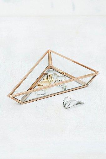 Image du produit Vide-poche triangle en verre