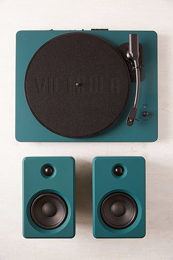 ep-33-dark-green-bluetooth-turntable-with-speakers