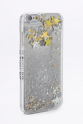 skinnydip-silver-star-sequin-iphone-66s-case