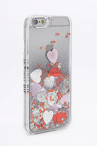 skinnydip-pink-heart-sequin-iphone-66s-case