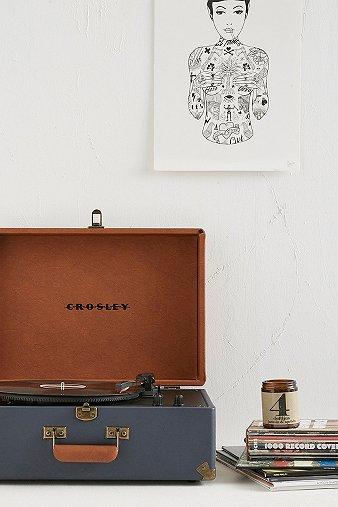 crosley-keepsake-portable-blue-tan-vinyl-record-player