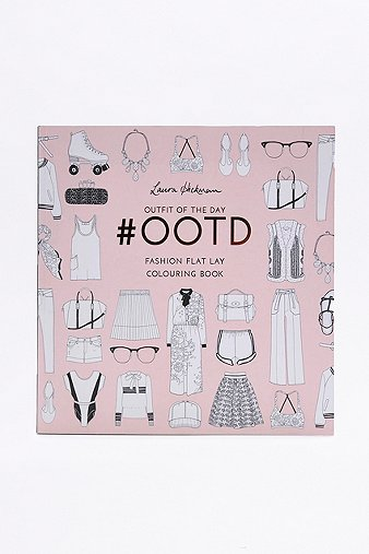 outfit-of-the-day-ootd-fashion-flat-lay-colouring-book