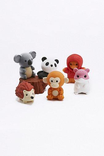 forest-animals-eraser-set