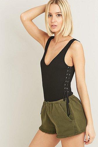 side-lace-up-black-bodysuit-womens-m
