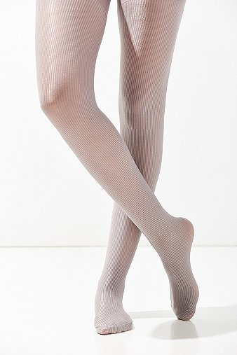 out-from-under-metallic-silver-ribbed-tights-womens-one-size