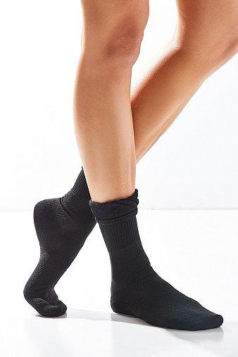mixed-print-ruffle-crew-socks-womens-one-size