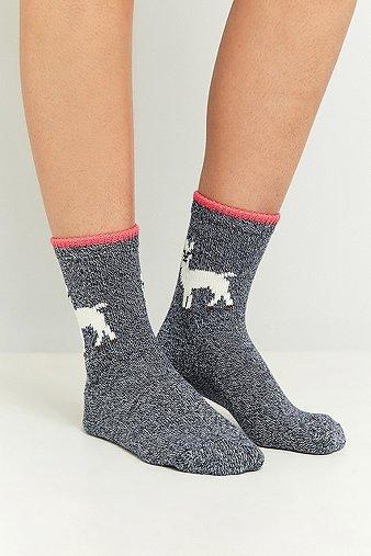 llama-ankle-socks-womens-one-size