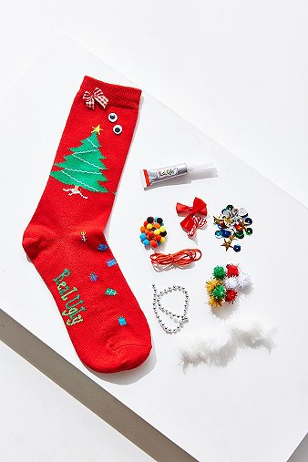 real-ugly-socks-red-jumper-socks-do-it-yourself-box-kit-womens-one-size
