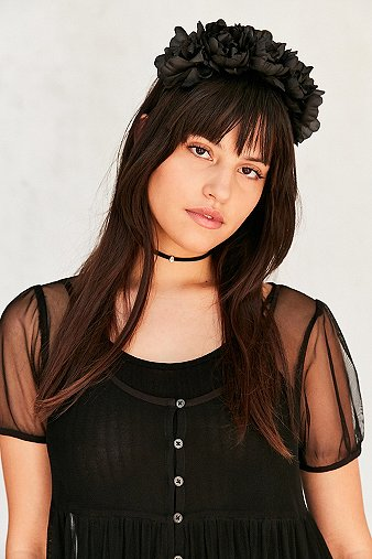 black-flower-crown-head-band-womens-one-size