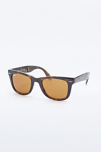 ray-ban-folding-tortoiseshell-wayfarer-sunglasses-womens-one-size