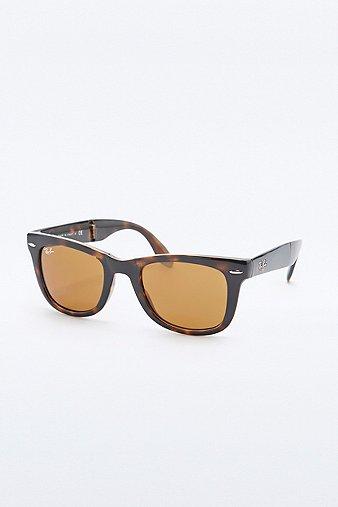 ray-ban-folding-tortoiseshell-wayfarer-sunglasses-womens-one-size