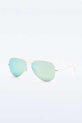 ray-ban-large-gold-green-mirror-aviator-sunglasses-womens-one-size