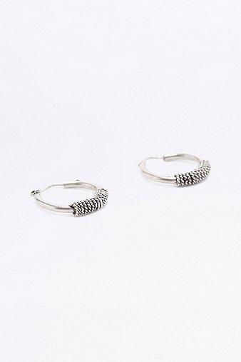 sterling-silver-mini-twist-hoop-earrings-womens-one-size