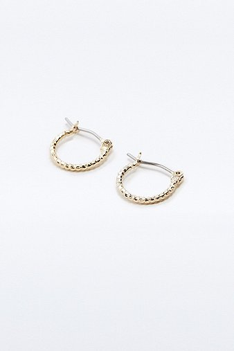 mini-facet-hoop-earrings-womens-one-size