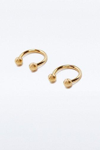 openball-hoop-earrings-womens-one-size