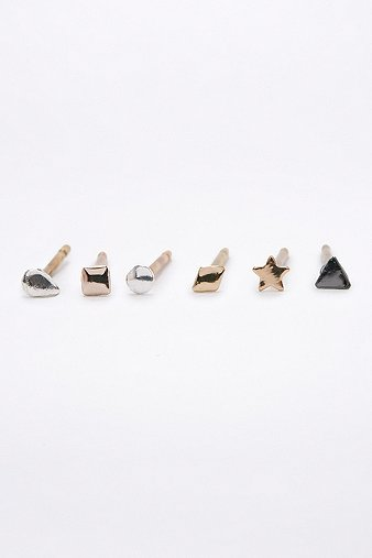 teeny-geo-stud-earrings-multipack-womens-one-size