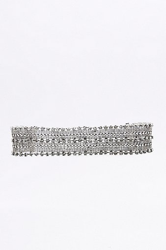 rhinestone-statement-choker-necklace-womens-one-size