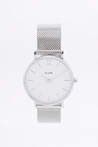 cluse-la-minuit-silver-mesh-watch-womens-one-size