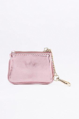 mini-metallic-purse-keyring-womens-one-size