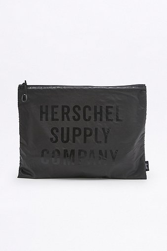 herschel-supply-network-xl-black-ripstop-pouch-womens-one-size
