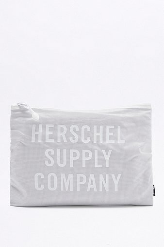 herschel-supply-network-xl-white-ripstop-pouch-womens-one-size