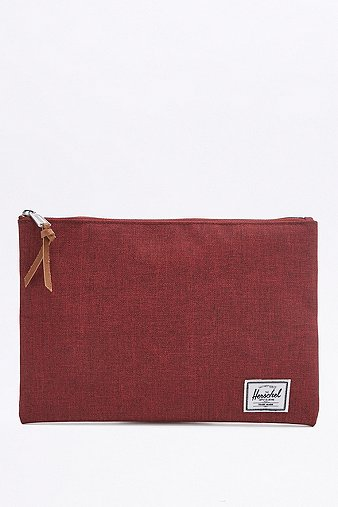 herschel-supply-network-l-wine-tasting-maroon-pouch-womens-one-size