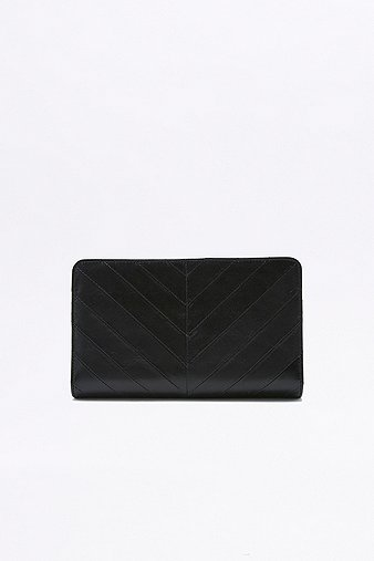 status-anxiety-mildred-quilted-black-wallet-womens-one-size