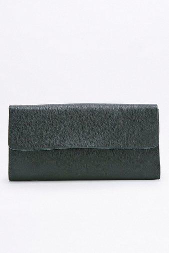 vagabond-dark-green-leather-wallet-womens-one-size