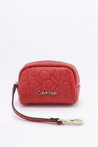 calvin-klein-misha-red-coin-purse-womens-one-size