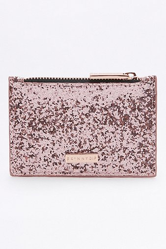 skinnydip-rose-gold-glitter-coin-purse-womens-one-size