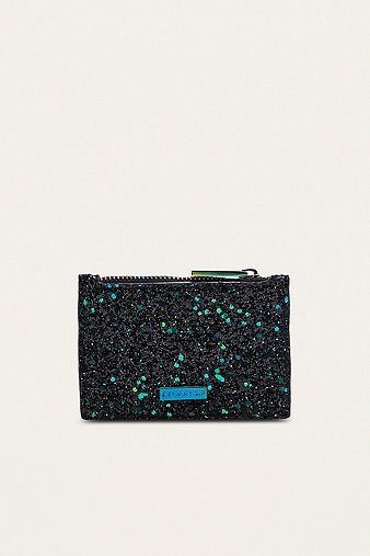 skinnydip-black-bug-glitter-coin-purse-womens-one-size