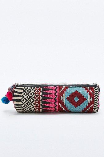 Image du produit Trousse à crayons imprimé tapisserie multicolore - Femme ONE 38IZE