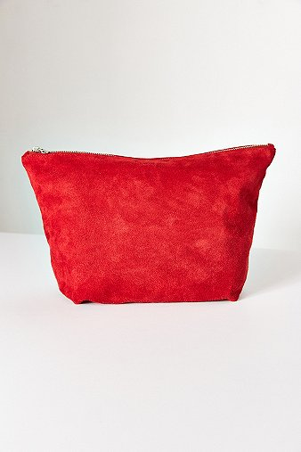 baggu-large-red-suede-clutch-bag-womens-one-size