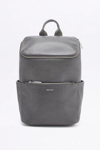 matt-nat-brave-grey-backpack-womens-one-size