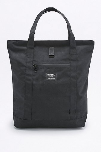 sandqvist-max-black-mineral-tote-bag-womens-one-size
