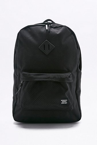herschel-supply-aspect-heritage-black-canvas-backpack-womens-one-size