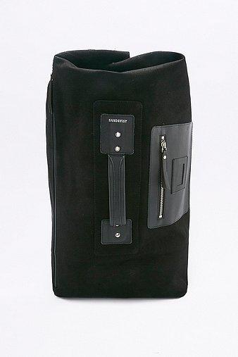 sandqvist-gisela-black-holdall-backpack-mens-one-size