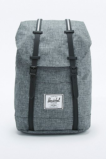 herschel-supply-retreat-raven-crosshatch-backpack-mens-one-size