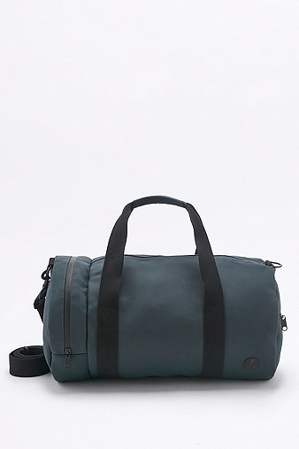 Fred Perry Matte Navy Barrel Bag Navy