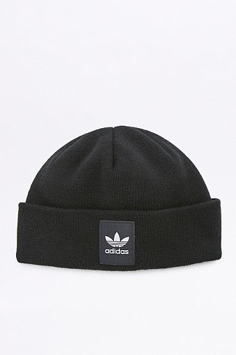 adidas-originals-black-logo-beanie-mens-one-size