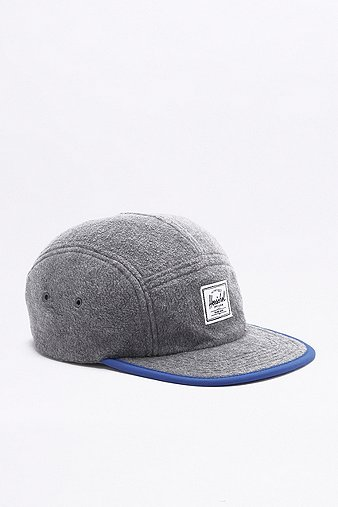 herschel-supply-glendale-grey-fleece-classic-5-panel-cap-mens-one-size