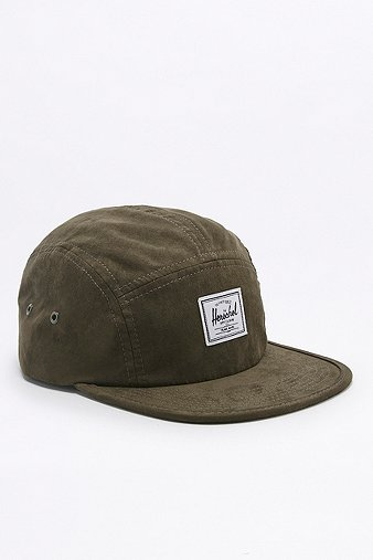 herschel-supply-glendale-army-suede-5-panel-cap-mens-one-size