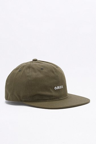 obey-contorted-army-6-panel-strapback-cap-mens-one-size