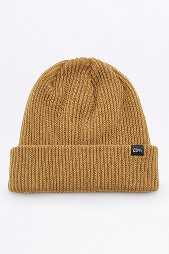 obey-caster-gold-beanie-mens-one-size