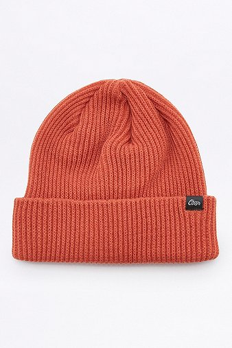 obey-caster-red-beanie-mens-one-size