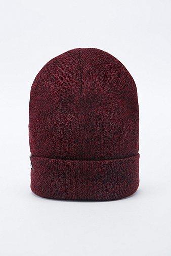 lifers-heather-burgundy-beanie-mens-one-size