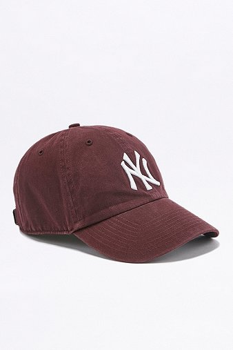 47-brand-yankees-maroon-cap-mens-one-size